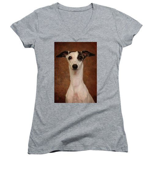 Young Whippet Women's V-Neck (Athletic Fit)