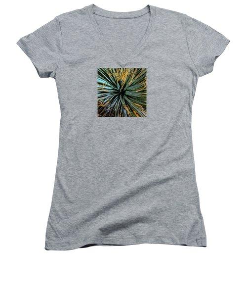 Yucca Yucca Women's V-Neck T-Shirt (Junior Cut) by Stan  Magnan