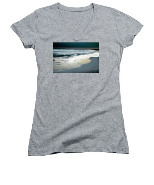 Zamas Beach #13 Women's V-Neck