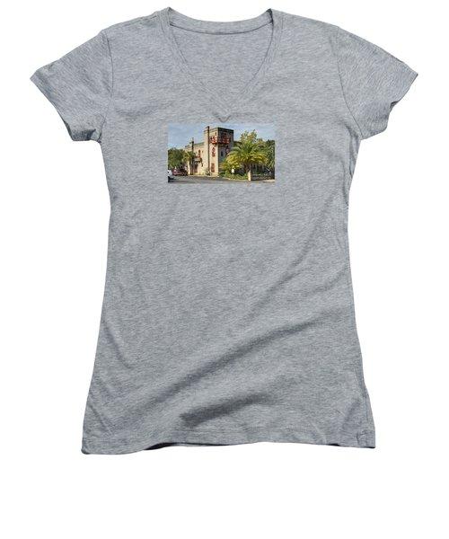 Zorayda Castle Women's V-Neck T-Shirt
