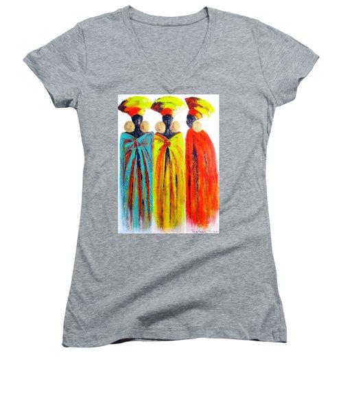 Zulu Ladies Women's V-Neck (Athletic Fit)