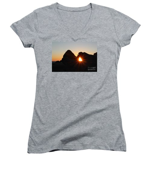 A Moment In Time Women's V-Neck