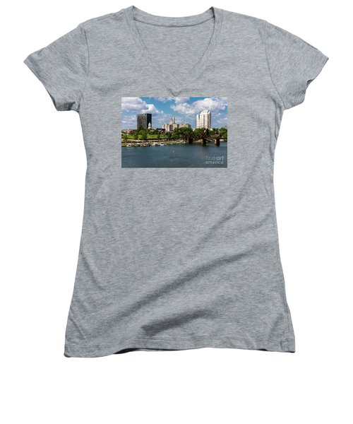 Augusta Ga - Savannah River Women's V-Neck