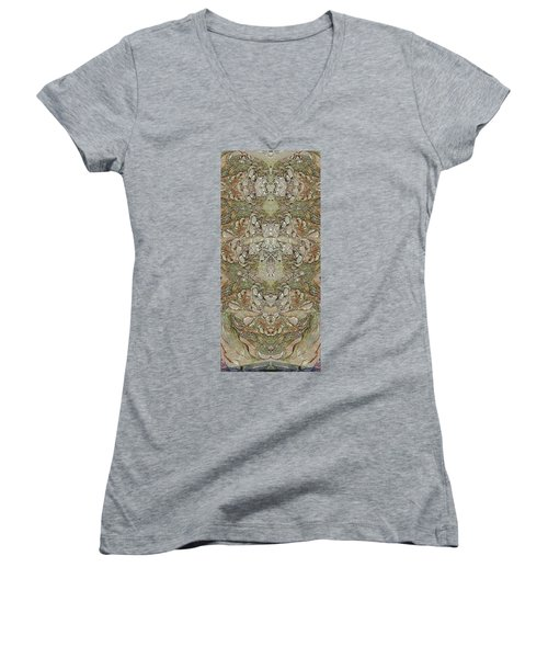 Desert Wall Women's V-Neck