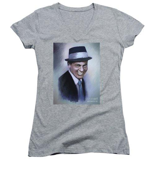 Frank Sinatra Women's V-Neck