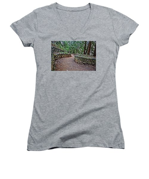 Just Around The Bend Women's V-Neck