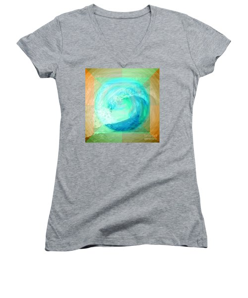 Ocean Earth Women's V-Neck