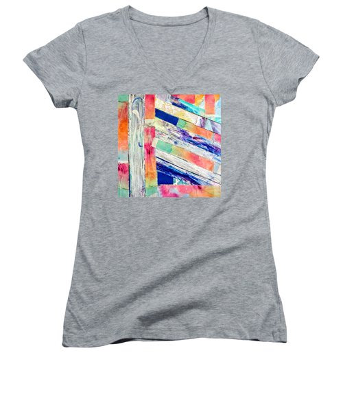 Out Of Site, Out Of Mind Women's V-Neck
