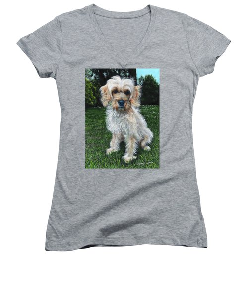 Portrait Of Toffee Women's V-Neck