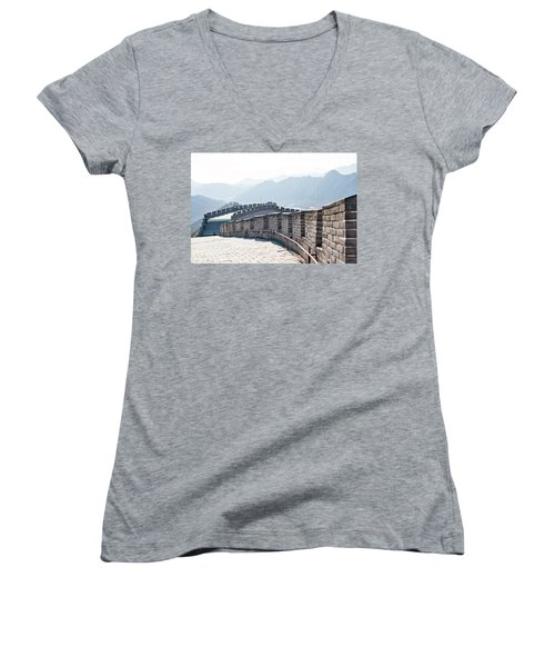The Great Wall Of China Women's V-Neck