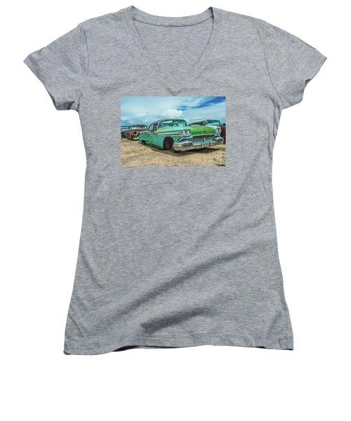 1958 Oldsmobile Super 88 Women's V-Neck