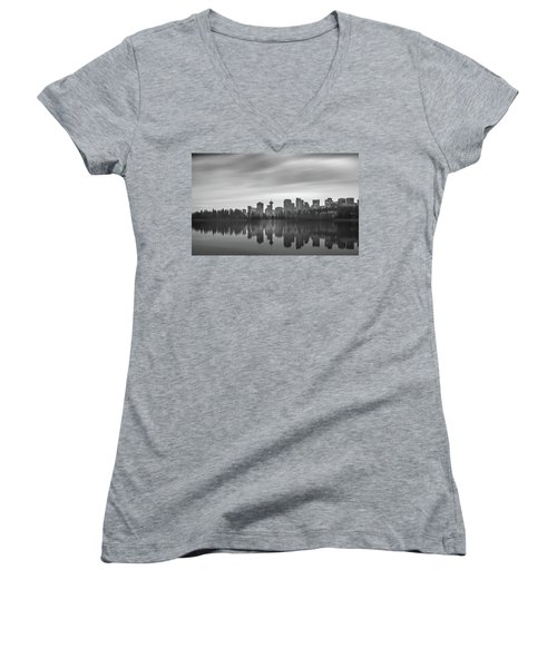 Downtown Vancouver Women's V-Neck
