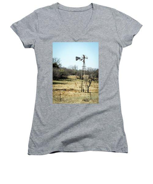 Windmill Women's V-Neck