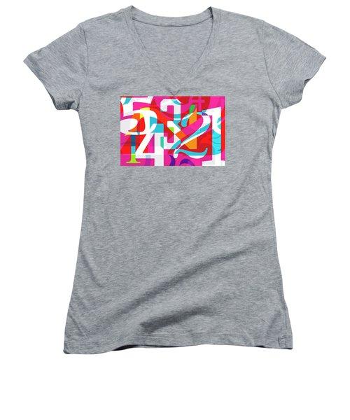 54321 Women's V-Neck