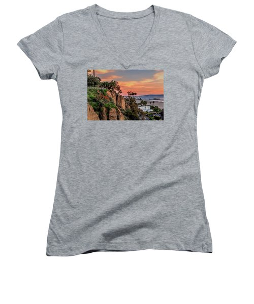 A Nice Evening In The Park Women's V-Neck