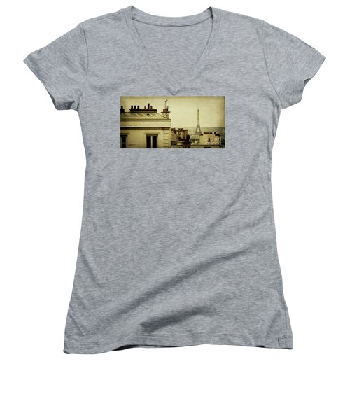 A Room With A View Women's V-Neck