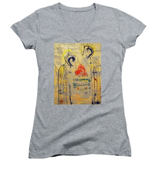 A Thousand Miles Of Sand And Sea Women's V-Neck
