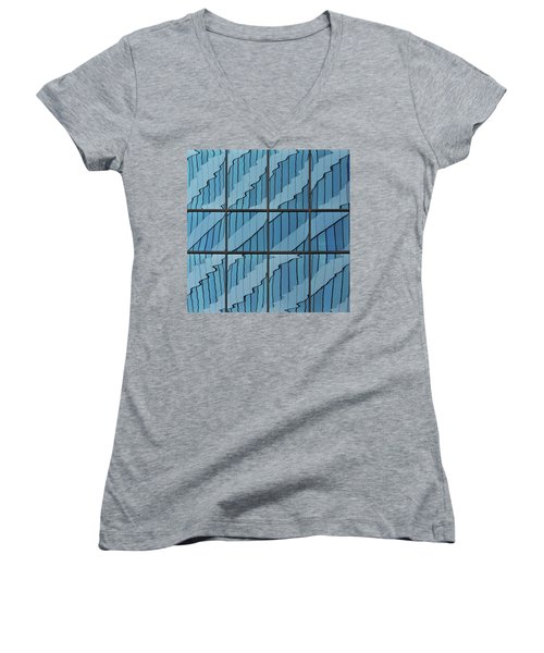Abstritecture 39 Women's V-Neck