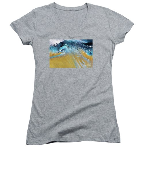 Acts 22 16. Why Are You Waiting Women's V-Neck