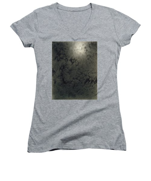 Alfred Stieglitz  So Subtle That It Becomes More Real Than Reality Women's V-Neck