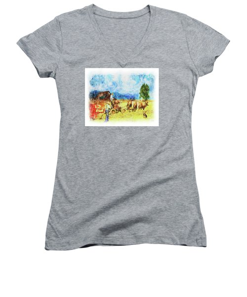 Amish Life Women's V-Neck