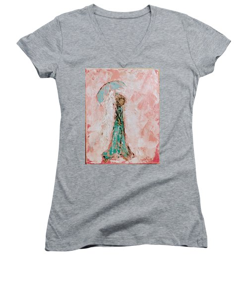 Angel By Your Side Women's V-Neck