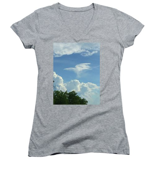 Angel Cloud Appears  Women's V-Neck