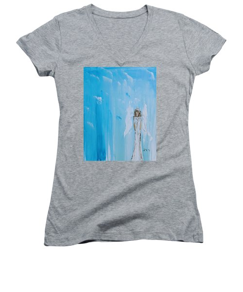 Angel Of Simplicity Women's V-Neck