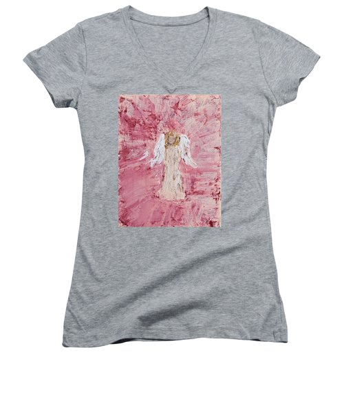 Angel Was Lost But Now Is Found  Women's V-Neck