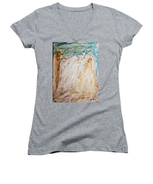 Angels Of Peace Women's V-Neck
