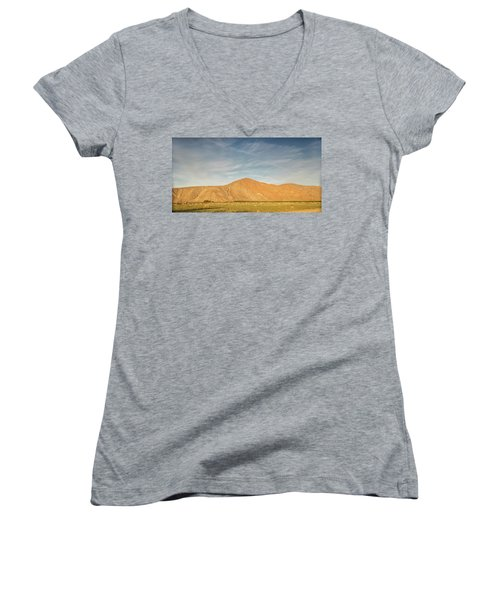 Anza Borrego Sunset Women's V-Neck