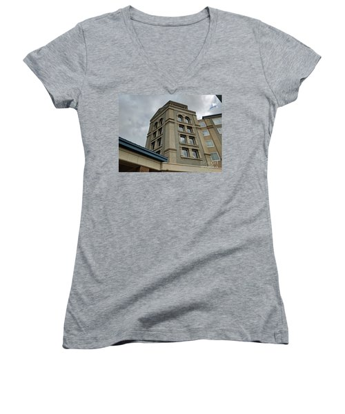Architecture In The Clouds Women's V-Neck