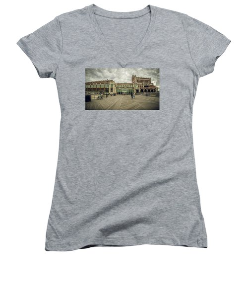 Asbury Park Convention Hall Women's V-Neck