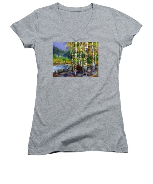 Aspen Bears #2 Women's V-Neck