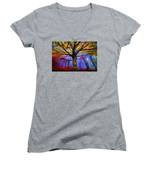 Autumn A18-120 Women's V-Neck