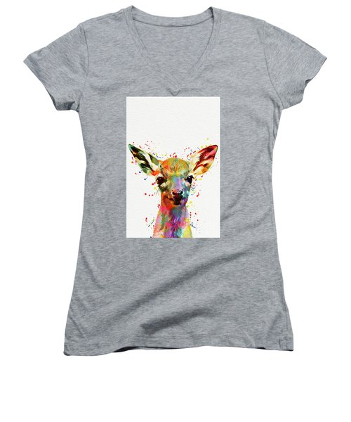 Baby Deer  Women's V-Neck