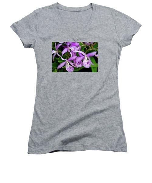 Bc Maikai 'louise' Orchid Women's V-Neck