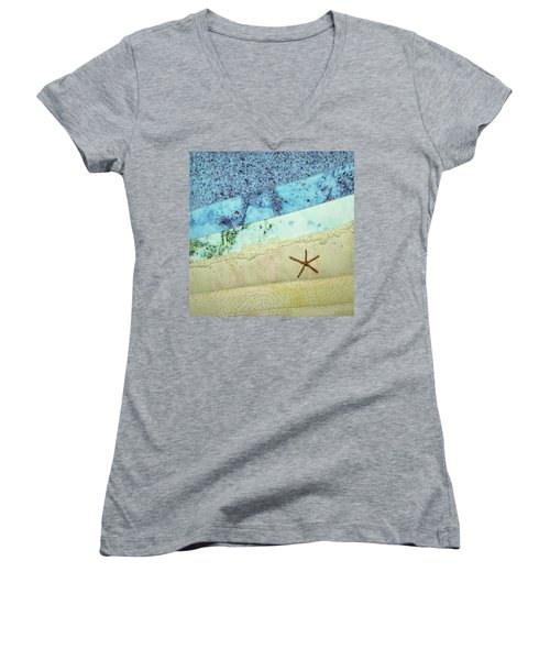 Beach Time Women's V-Neck