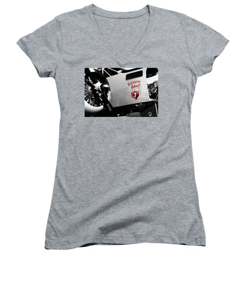 Beech At-11 In Selective Color Women's V-Neck