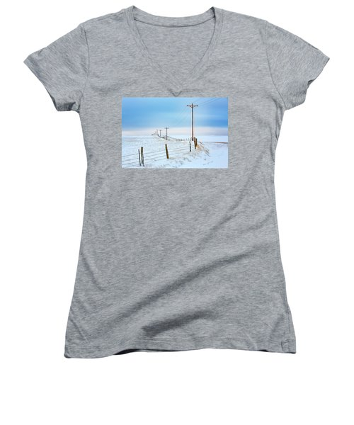 Bend In The Road Women's V-Neck
