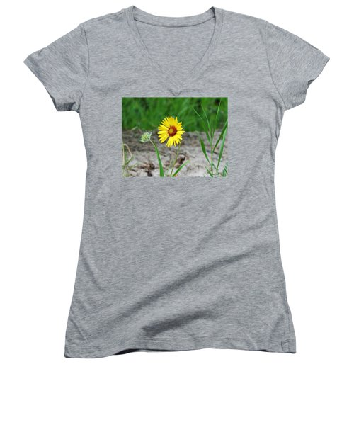 Bloom And Waiting Women's V-Neck