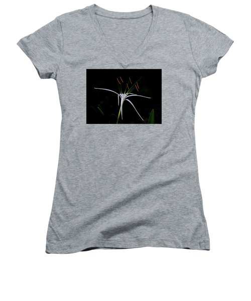 Blooming Poetry Women's V-Neck
