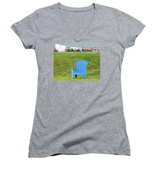 Blue Chair Women's V-Neck