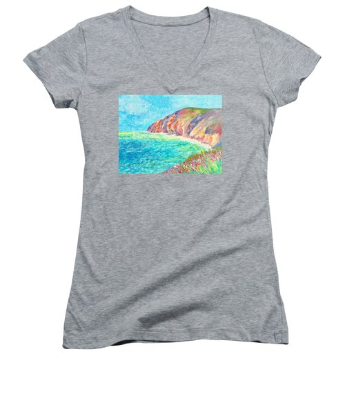 By The Sea Women's V-Neck