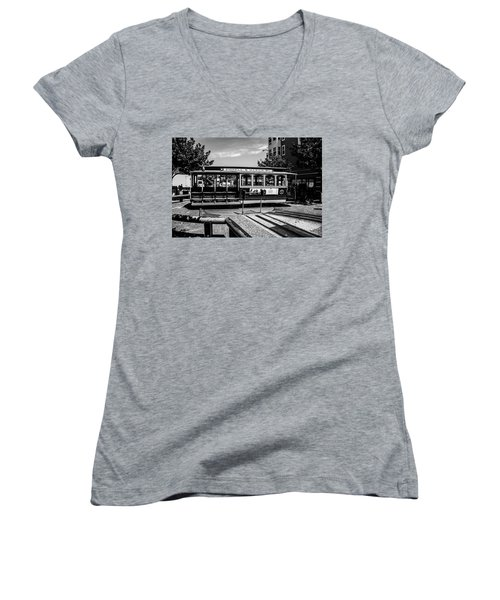 Cable Car Turn Around Women's V-Neck