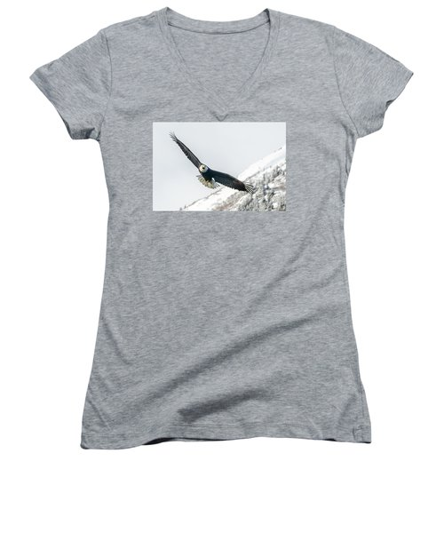 Call Of The Wild North Women's V-Neck