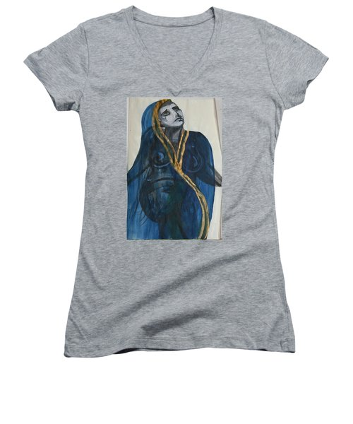 Can You Hear Me Women's V-Neck