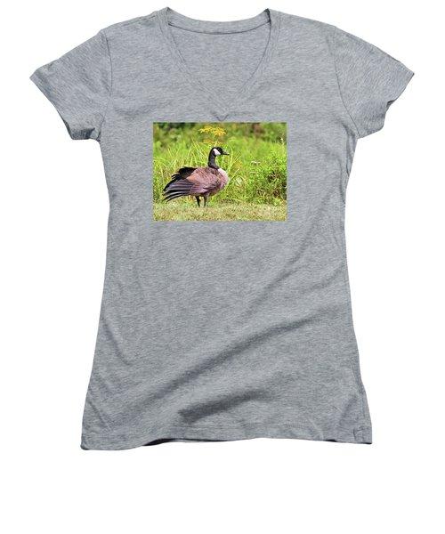 Canada Goose Women's V-Neck
