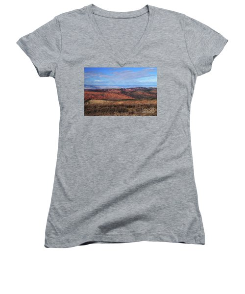Canyons Of Utah Women's V-Neck