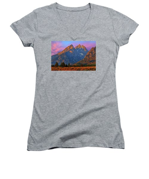 Cathedral Dawn Women's V-Neck